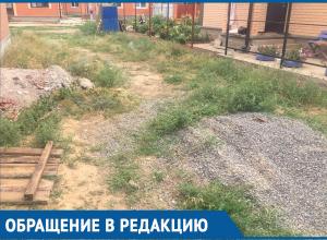 Жители улицы Золотая в Волгодонске просят администрацию ограничить проезд по улице для большегрузов