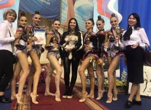 Волгодонские гимнастки собрали «урожай» из медалей в Пензе
