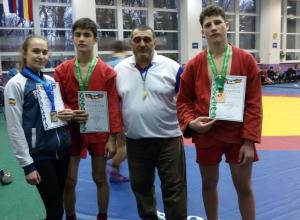 Волгодончанка заняла второе место на первенстве Дона по самбо