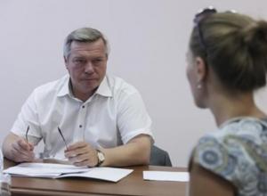 Голубев выделил дополнительные средства для отстающего в строительстве спортзала Волгодонского района