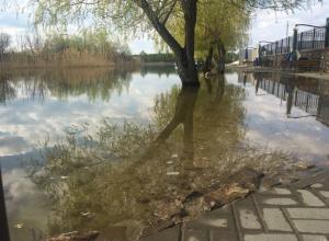 Волгодонск может подтопить из-за повышения воды в Цимлянском водохранилище и Дону