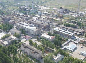 На городской ТЭЦ Волгодонска демонтировали дымовую трубу