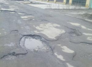 Жителям переулка Кирова в Волгодонске уже пять лет обещают сделать дорогу