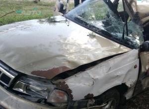 Пьяный водитель влетел в дерево в Цимлянском районе