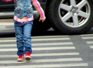 Девочку сбили на пешеходном переходе в районе «Санта-Барбары» в Волгодонске, - источник