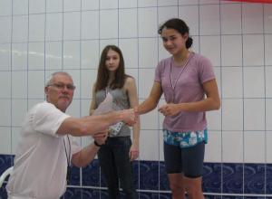 Волгодонская пловчиха Вероника Кучеренко установила новый рекорд Волгодонска по плаванию