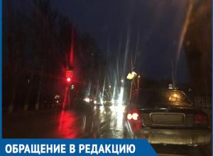 Из-за плохого освещения ты не видишь идущих под колеса пешеходов, - волгодонцы опасаются участка дороги на улице Степной