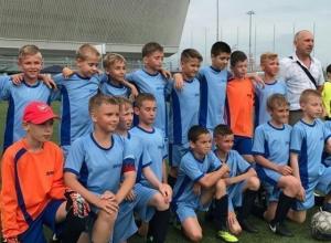 Юные волгодонцы отличились на турнире «Надежды футбола» в Сочи