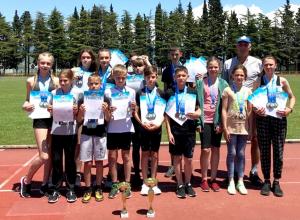 Гордись, Волгодонск: юные легкоатлеты стали лучшими на соревнованиях в Сочи