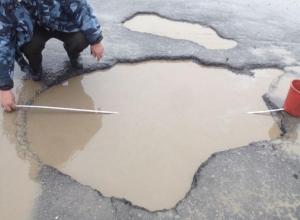 «Положите асфальт в городе»: Волгодончанка написала петицию Путину с жалобой на ужасное состояние дорог после зимы