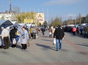 Саженцы и пасхальные куличи привлекли сотни волгодонцев на Площадь Победы