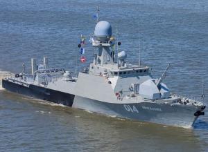 Экипаж корабля «Волгодонск» подготовили к возможному затоплению