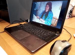 92-летняя волгодончанка намерена обучить своих подруг работе на компьютере