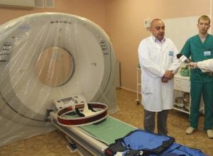 В БСМП Волгодонска после года и десяти месяцев простоя заработал томограф