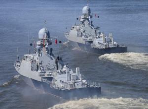 Военный корабль «Волгодонск» представлявший ВМФ России на конкурсе «Кубок моря» одержал победу