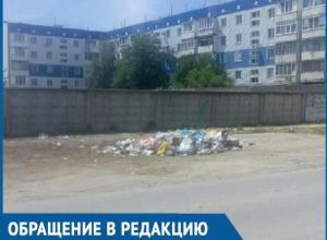 Центральную улицу Цимлянска власти превратили в свалку, - цимляне о горах мусора по улице Ленина