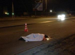 Женщина умерла под колесами рейсового автобуса на автодороге Ростов-Волгодонск