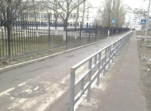 Почти 14 километров ограждений возле пешеходных переходов за 17 миллионов рублей установят в Волгодонске