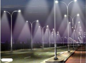 На сквере «Юность» решили проверить экономию от светодиодного освещения