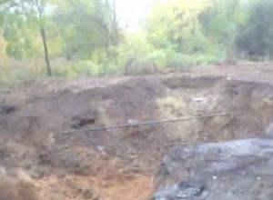 Эта дорога никому не нужна, - волгодонец о разрытом Ростовском шоссе