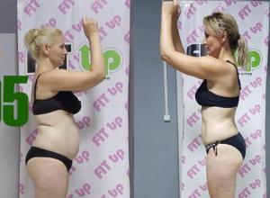 Многодетная мама Марина Меньшикова похудела на 7 килограммов и 15 сантиметров в талии