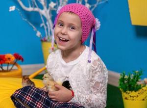 Чтобы избежать рецидива 6-летней волгодончанке Софии Плаксий необходимо обследование в Израиле