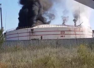 Клубы черного дыма в районе ТЭЦ попали на видео