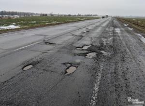«Ощущение, что трассу Ростов-Волгодонск разбомбили»: Автомобилисты шокированы состоянием дороги