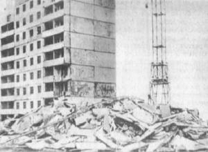Календарь Волгодонска: в новом городе рухнул девятиэтажный жилой дом