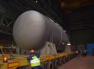 Атомный реактор из Волгодонска приехал на Белорусскую АЭС