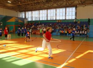 На старт городской спартакиады вышли 60 активных пожилых спортсменов