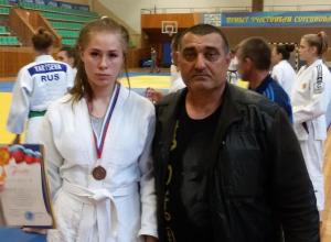 Юная волгодончанка завоевала «бронзу» на всероссийских соревнованиях по дзюдо