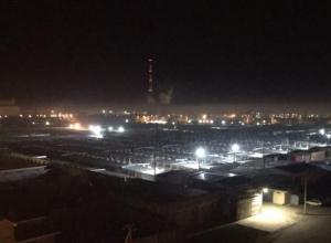 Едким запахом гари ночью окутало Волгодонск