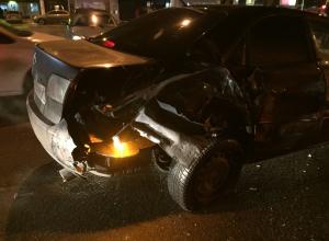 Водитель «Газели» протаранил пять машин и автобус в центре Волгодонска