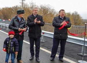 Обещавший Волгодонску третий мост Андрей Иванов торжественно открыл мост через реку Сал за 82 миллиона