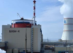 Новый энергоблок №4 РоАЭС выведен на 100% мощности