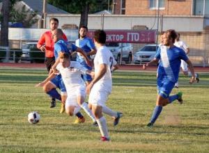 ФК «Волгодонск» одержал победу над многократным чемпионом области по футболу