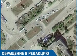 Волгодонец рассказал об опасностях, которые ждут водителей на кольце по проспекту Строителей