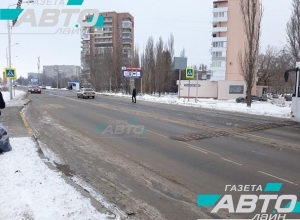 «Лежачий полицейский» возле аварийной «зебры» на Степной в Волгодонске станет еще шире