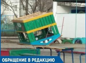 Банда подростков орудует в детском саду «Уголёк» в Волгодонске