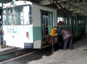 Троллейбусный парк Волгодонска проверили на готовность к осенне-зимнему периоду