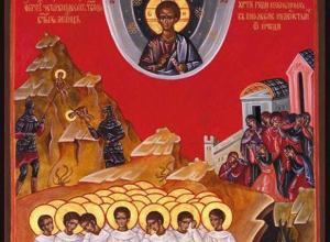 12 апреля в Волгодонск прибудет икона Вифлеемских младенцев