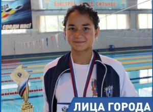 Юлия Ефимова является для меня примером силы духа, - 14-летняя пловчиха Вероника Кучеренко