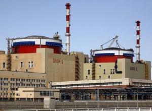Первый блок Ростовской АЭС отремонтировали досрочно