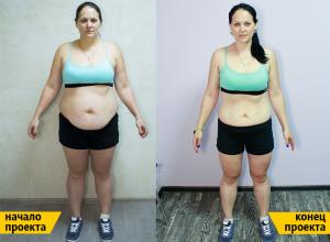 Из толстушки в красотку: шикарный результат волгодончанки Юлии Зайвая