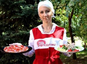 «Осенний» салат и пиццу-минутку приготовила Татьяна Курисаки