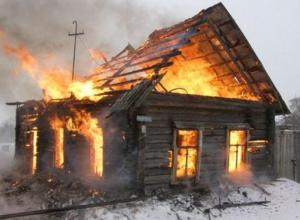Пожар в Цимлянском районе ликвидировали более трех часов