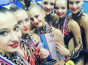 Волгодончанка Анна Беркутова выиграла «серебро» чемпионата России по художественной гимнастике