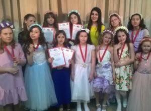 Юные звездочки из Волгодонска покорили «Жемчужину Калмыкии»