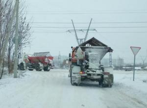 Волгодонские коммунальщики рассказали о возможном вывозе и складировании снега за городом